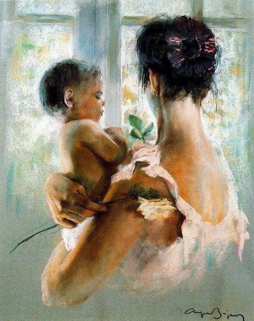 Fêtes des mères  ....   Mère  Enfant ...
