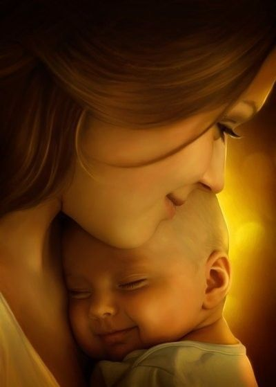 Fête des mères .... Mère  enfant