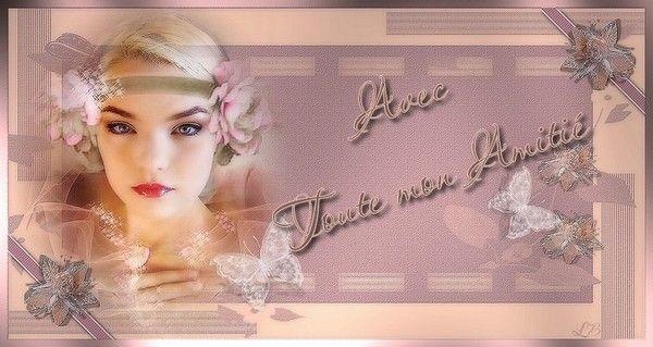 Rose ... amitié