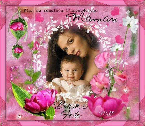 Fête des mères ... chez mon amie Maryse