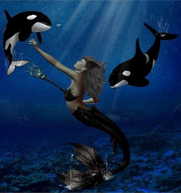 Imaginaire .... Sirène et orques