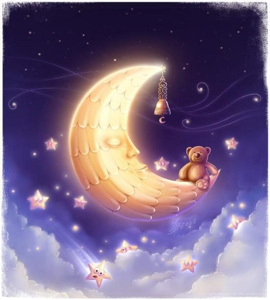 Nuit .. Lune  ... Rêveries