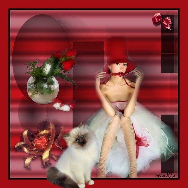 Rouge ... Belle image chez Kathania