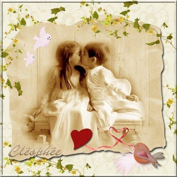 Amour ... Belle image de ma popine Cléo