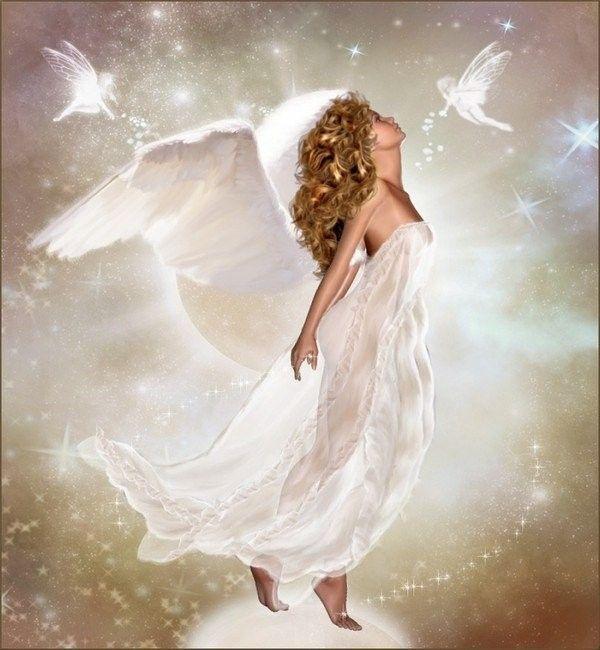 Blanc ... Belle image   Ange