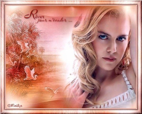 Belle image ... Rêveries  ...