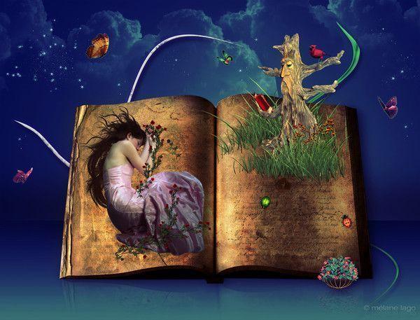 Imaginaire ... livre magique