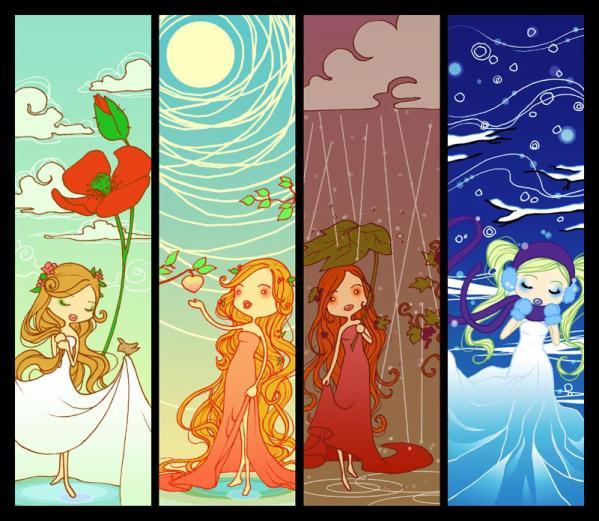 Saisons page 3 - Dessin 4 saisons ...